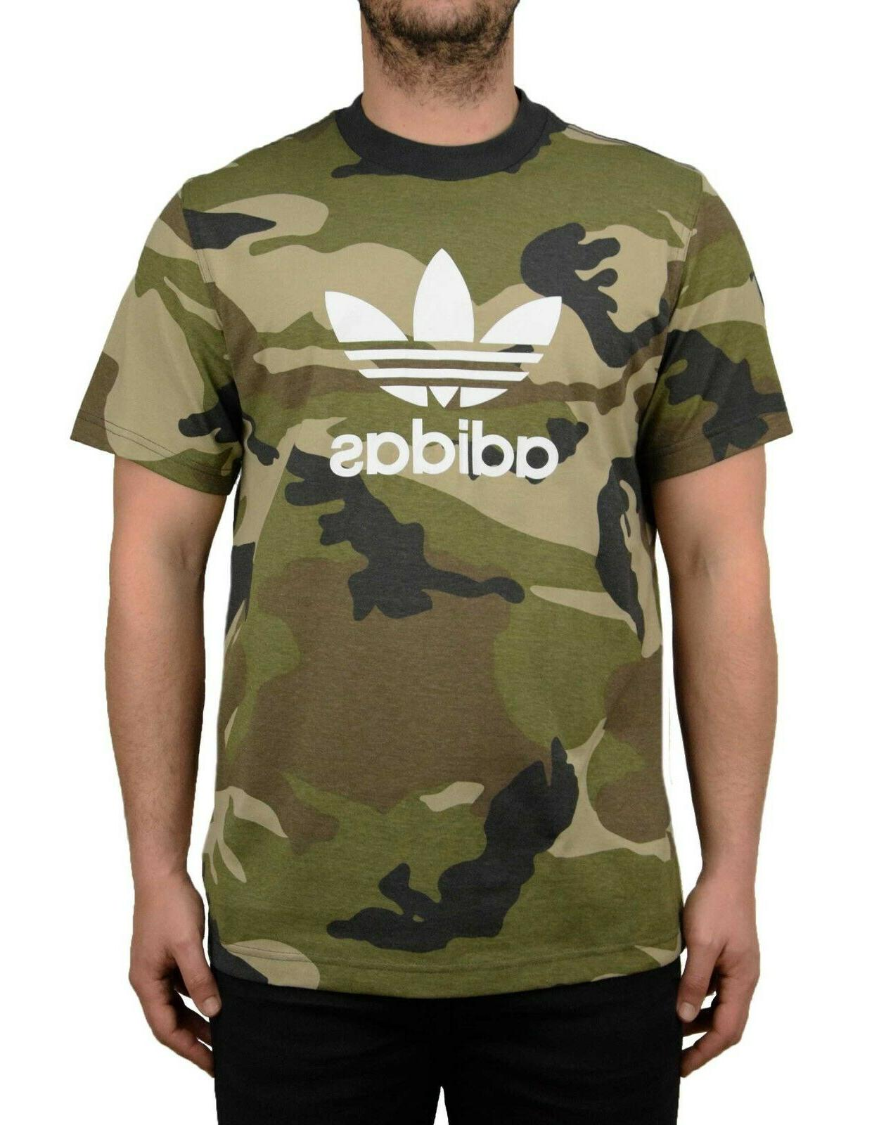 originals men s camo trefoil tee t