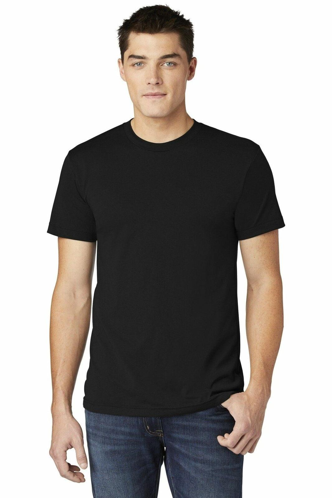 American Apparel Poly Cotton T-Shirt Slim Fit Ring BB401W