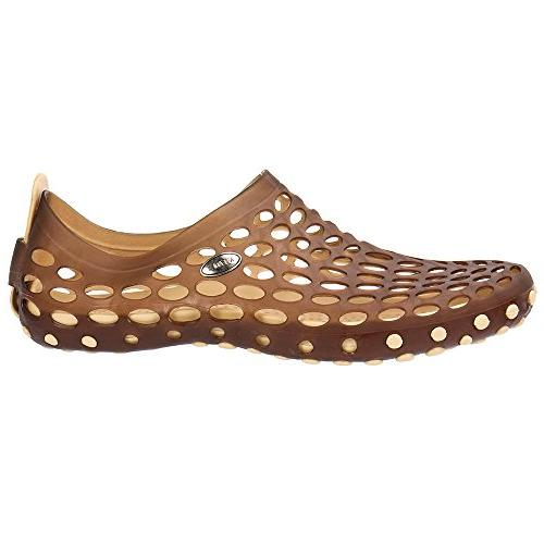ALEADER Shoes Brown D US