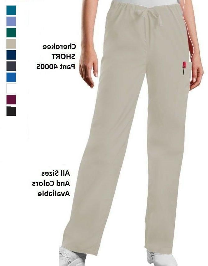 scurbs workwear short drawstring cargo pants 4000s