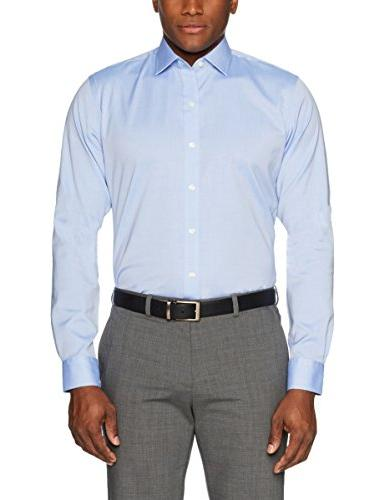 """BUTTONED DOWN Fit Non-Iron Shirt , Neck 33"""""""