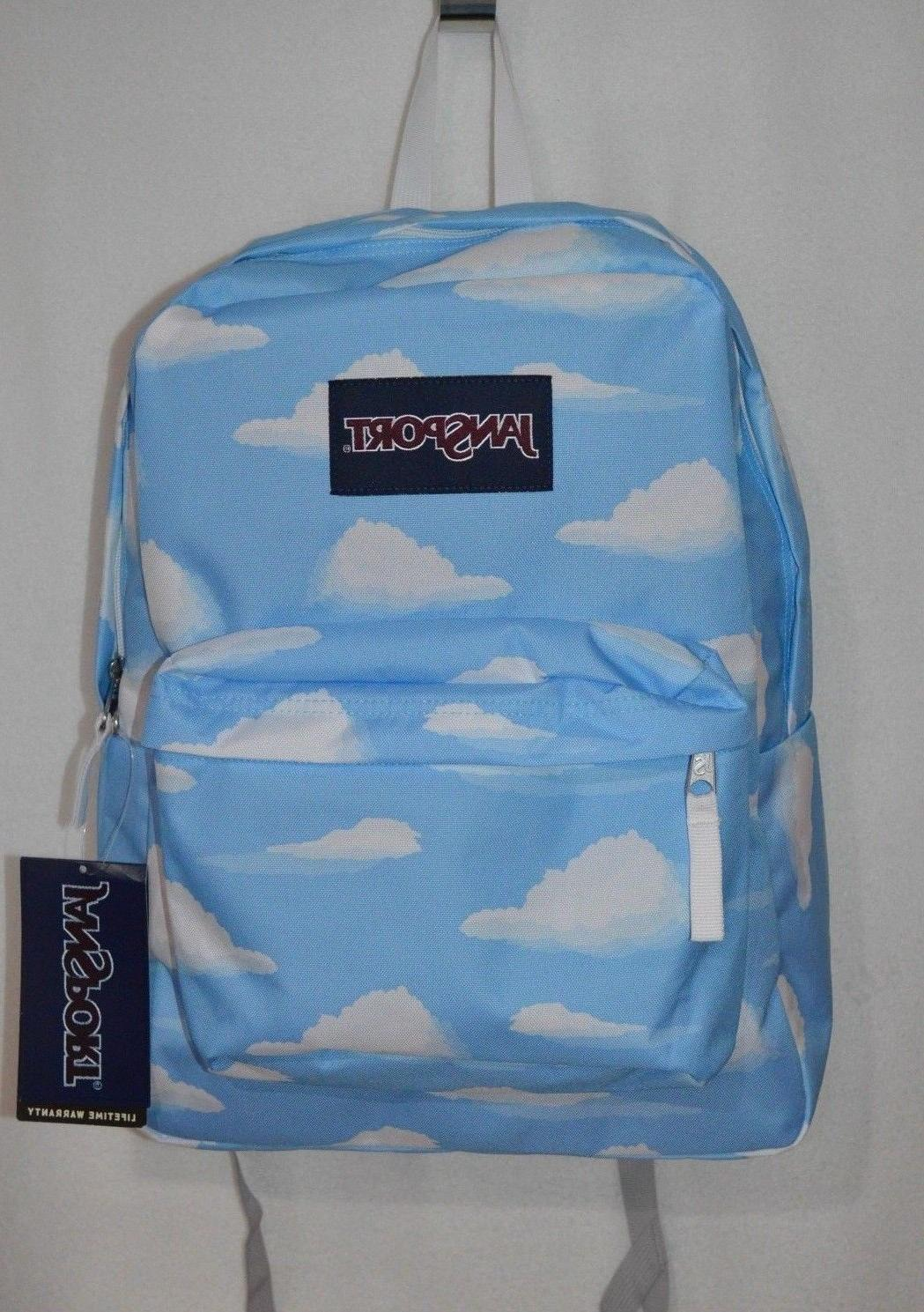 superbreak partly cloudy unisex backpack js00t5013d0