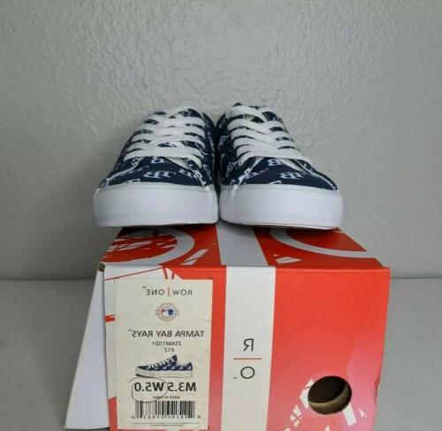 Tampa Bay Rays MLB Team One Men Sneakers Shoe