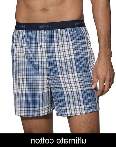 ultimate plaid boxers assorted