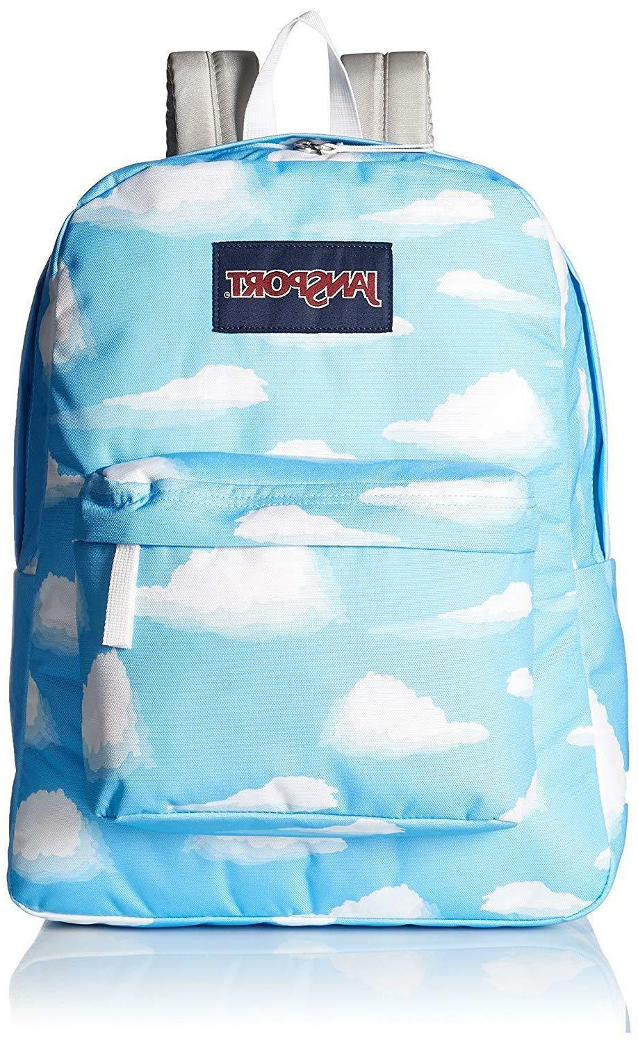 unisex superbreak partly cloudy backpack