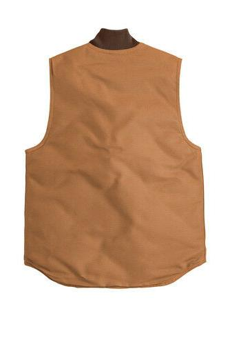 Carhartt Duck Vest Acrtic Lined TO SHIP