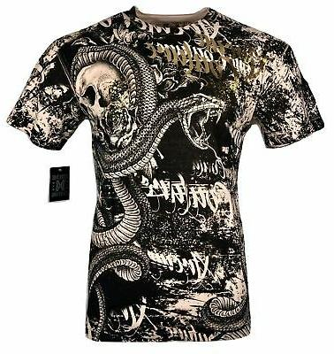 xtreme couture by men t shirtt blacktooth
