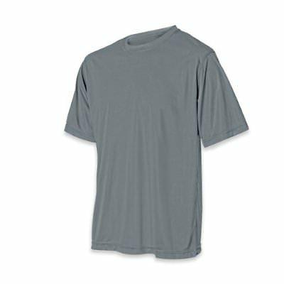 Vizari Youth Performance T-Shirt, Graphite, Large