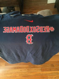 large Nike Red Sox t-shirt with sticker tags brand new MLB B