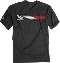 Factory Effex Licensed Honda Speed T-Shirt Charcoal Mens All