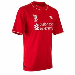 LIVERPOOL 2015/16 HOME M,L,XL S/SLEEVE FOOTBALL SOCCER SHIRT