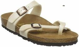 Birkenstock Women's Mayari Sandal,Graceful Antique Lace,39 E