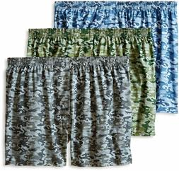 Fruit Of The Loom Men's 6 Pack Assorted Woven Boxers - 2XL C