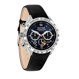 SECTOR Men's '695' Automatic Stainless Steel and Leather Spo
