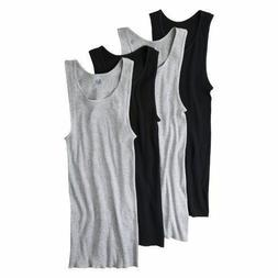 Fruit of the Loom Men's A-shirts Black/Gray