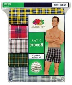 Fruit of the Loom Men's Boxer 4pk,5pk,6pk,7pk Sizes S-3XL