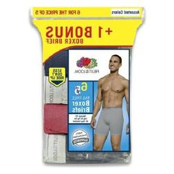 Fruit of the Loom Men's Boxer Briefs 9 Pack
