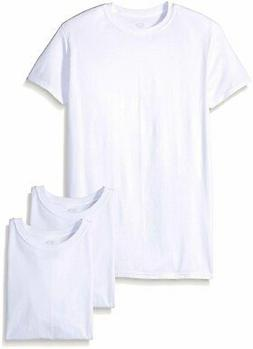 Fruit Of The Loom Men's Cotton Crew-Neck Tagless Undershirts
