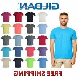 Gildan Men's Cotton Short Sleeve Softstyle T Shirt Blank 640