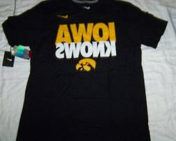 Nike Men's Iowa Hawkeyes Iowa Knows Shirt NWT