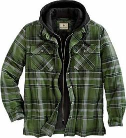 Legendary Whitetails Men's Maplewood Hooded Flannel Shirt Ja