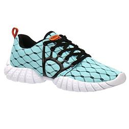 ALEADER Men's Mesh Cross-Traning Running Shoes Light Blue 13