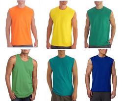 Fruit of the Loom Men's Muscle Shirt and Tank Top Big & Tall