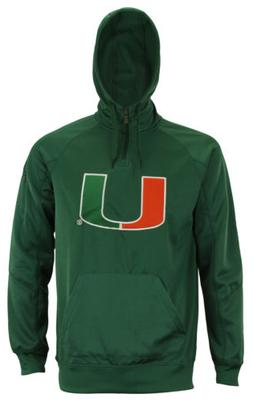 "Outerstuff Men's NCAA Miami Hurricanes ""Fan Basic"" 1/4 Zip H"