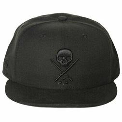 Sullen Men's NE Eternal Fitted Hat Black   Headwear Baseball