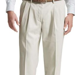Dockers Men's Relaxed Fit Comfort Khaki Cuffed Pants  Pleate