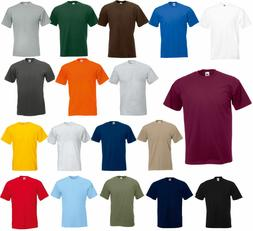 Fruit of the Loom Men's  Short Sleeves HD cotton T-Shirt