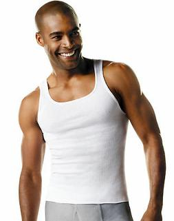 Hanes Tank Undershirt 10-Pack Value A-Shirt Men's ComfortSof