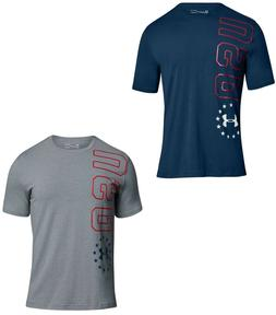 Under Armour Men's UA Freedom USA Graphic Loose Fit HeatGear