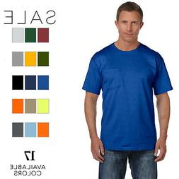 Fruit of the Loom - Mens 5 oz. 100% Heavy Cotton HD Pocket T