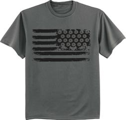 Mens Big and Tall American Flag T-shirt Graphic Tee Clothing