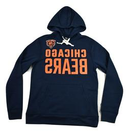 NFL Team Apparel Mens Chicago Bears Pullover Hoodie New S, M