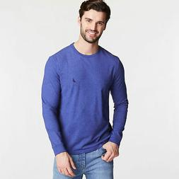 Nautica Mens Classic Crewneck Long Sleeve Tee