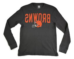 NFL Team Apparel Mens Cleveland Browns Thermal Shirt New S,