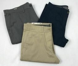 mens clothing sustainable stretch chino flat front