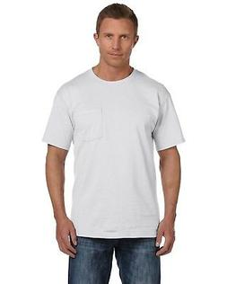 Fruit of the Loom Mens Heavy Cotton HD Pocket T-Shirt 3931P