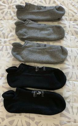 Men's Balega Hidden Comfort Socks XL-Lot Of 5 Pair-Running