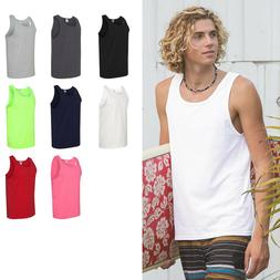 FRUIT OF THE LOOM MENS HIGH DENSITY COTTON TANK TOP SIZES S-