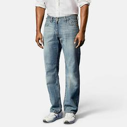 Nautica Mens Light Tidewater Wash Relaxed Fit Jeans