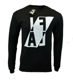 FILA Mens Long Sleeve Shirt S M L XL 2XL Athletic Sports App