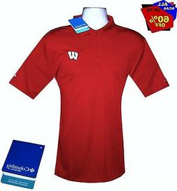 "Mens Ncaa Apparel ** Wisconsin Badgers ""Columbia"" Brand Ncaa"