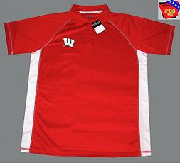 "Mens Ncaa Apparel * Wisconsin Badgers Mens ""Old Varsity"" Nca"