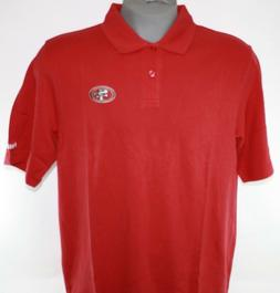 Mens Reebok NFL Team Apparel San Francisco 49'ers Red Polo G