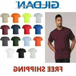 Gildan Mens Short Sleeve Blank Ultra Cotton TShirt with a Po