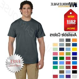 Gildan Mens Short Sleeves Heavy Weight Cotton 6 oz S-5XL T-S