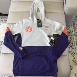Mens Small Clemson Tigers Nike On Field Apparel Therma Hoodi